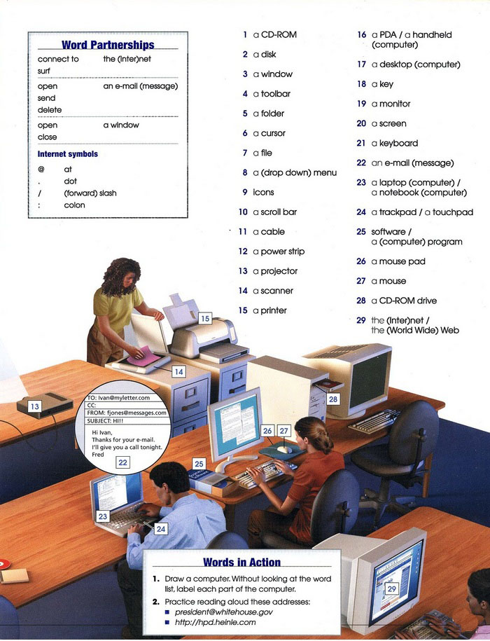 computers vocabulary pic 2