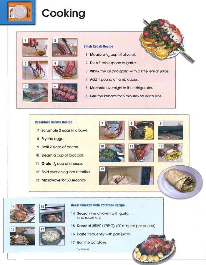 cooking vocabulary pic 1
