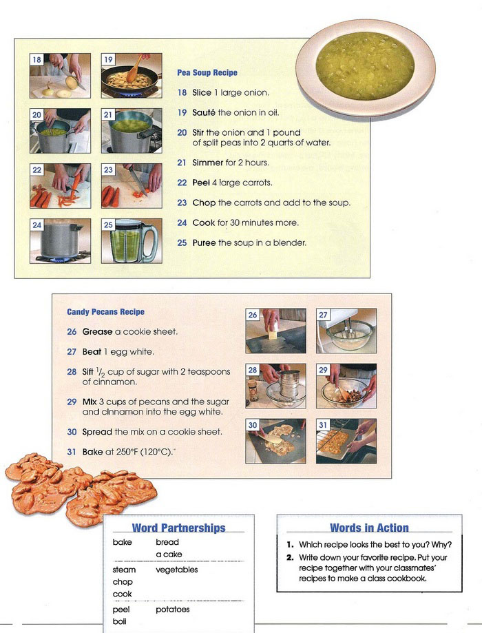 cooking vocabulary pic 2