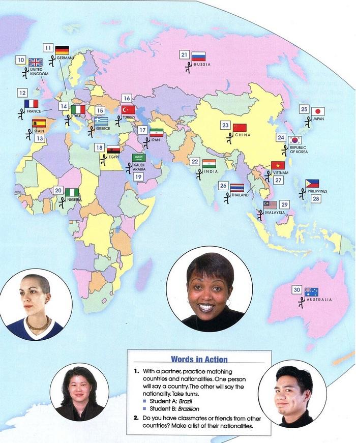nationalities vocabulary pic 2