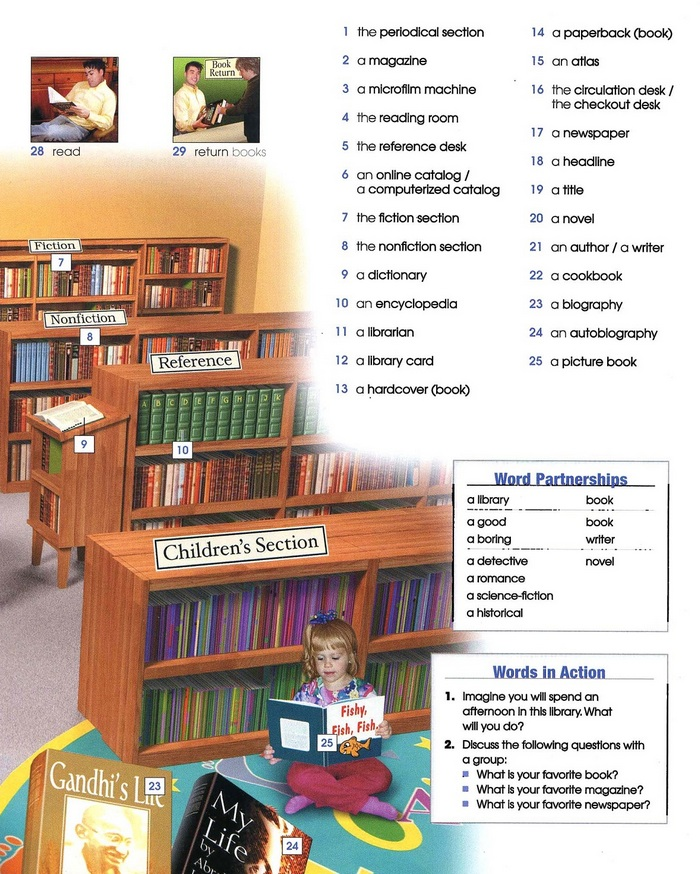 Library vocabulary pic 2
