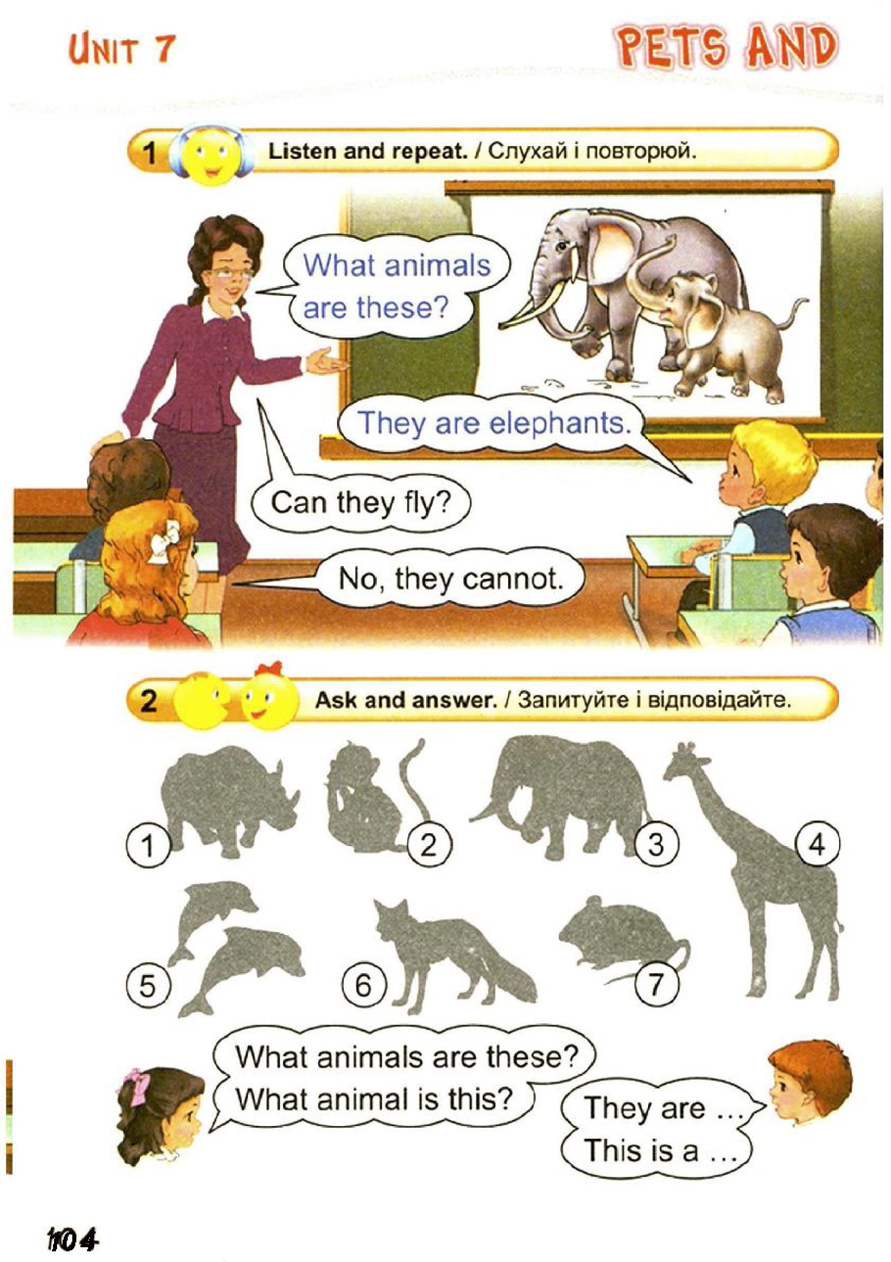 тема з англійської мови 2 клас - 0101