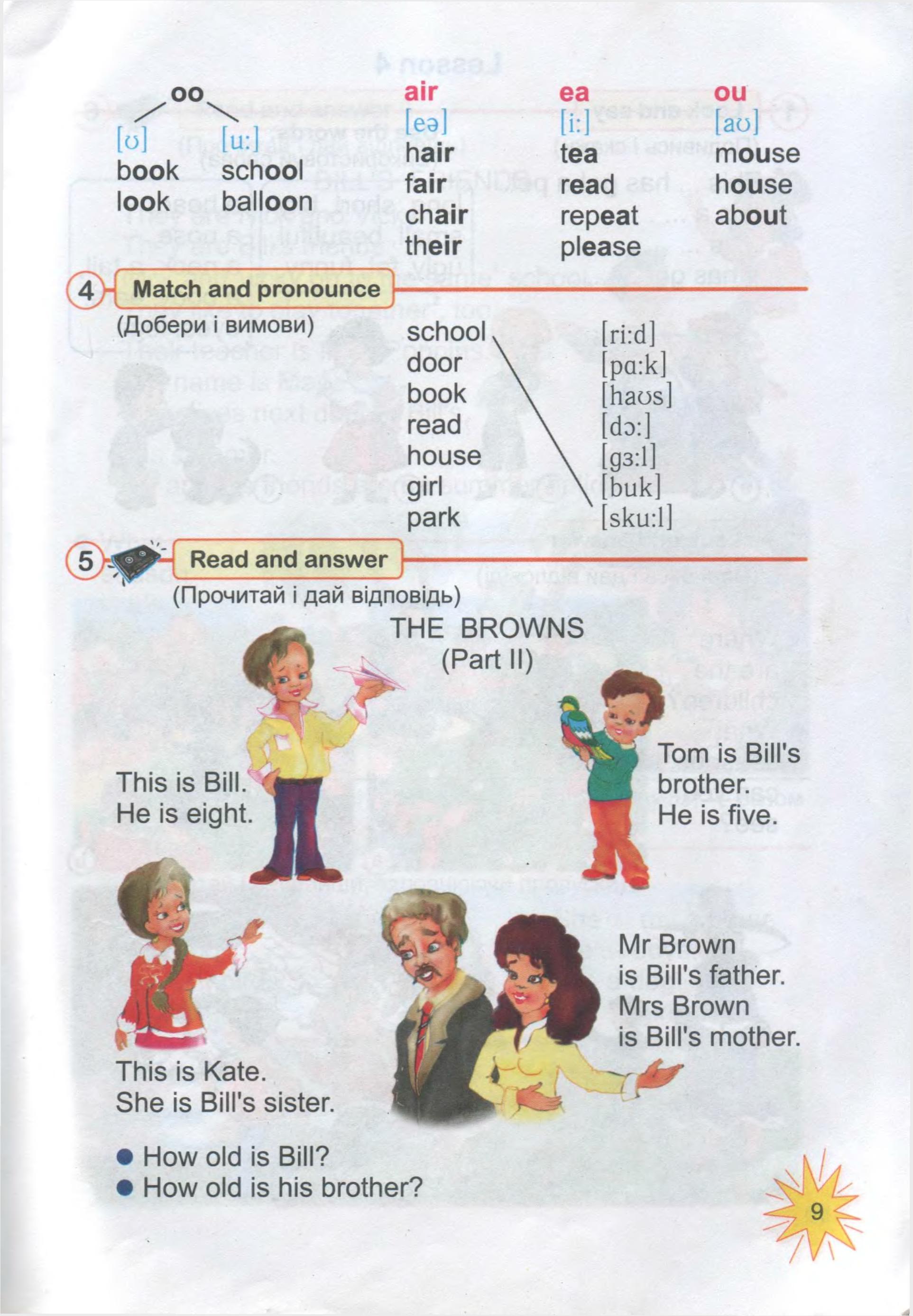 тема з англійської мови 3 клас - 0007