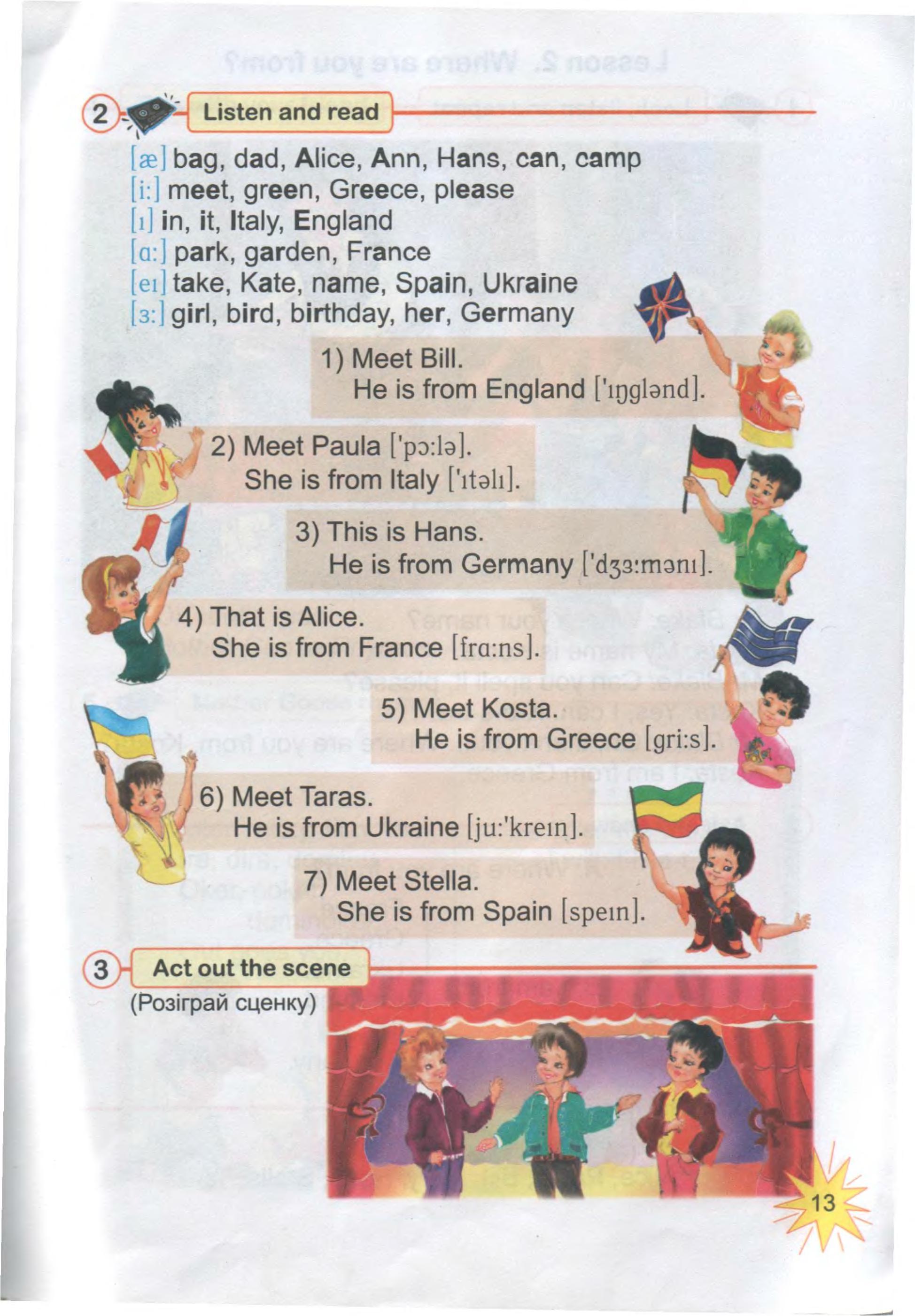 тема з англійської мови 3 клас - 0011
