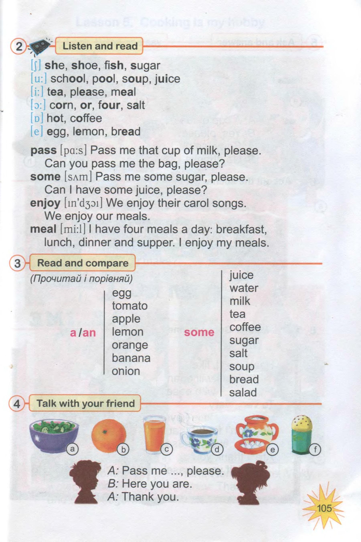 тема з англійської мови 3 клас - 0102