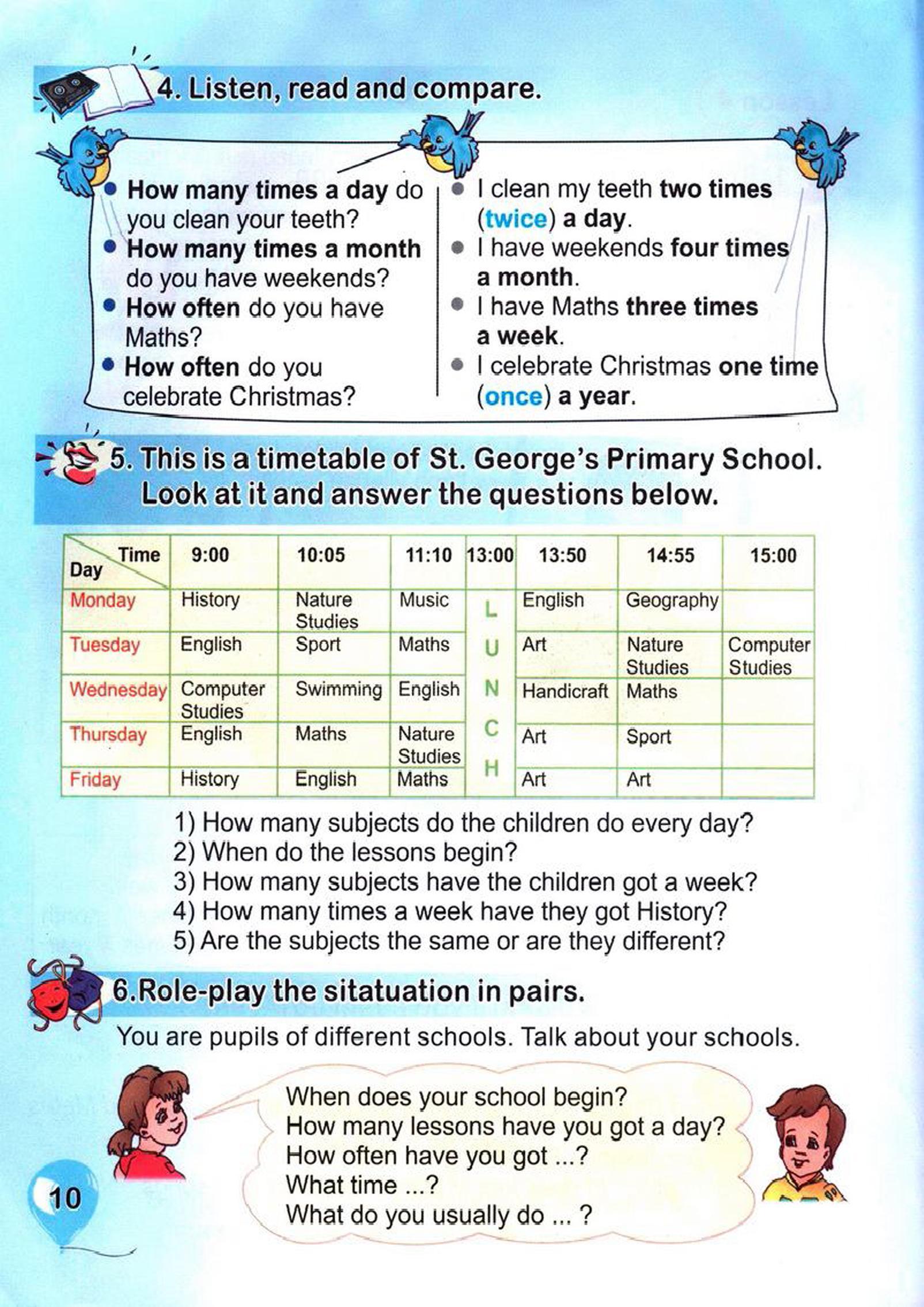 тема з англійської мови 4 клас - 0007