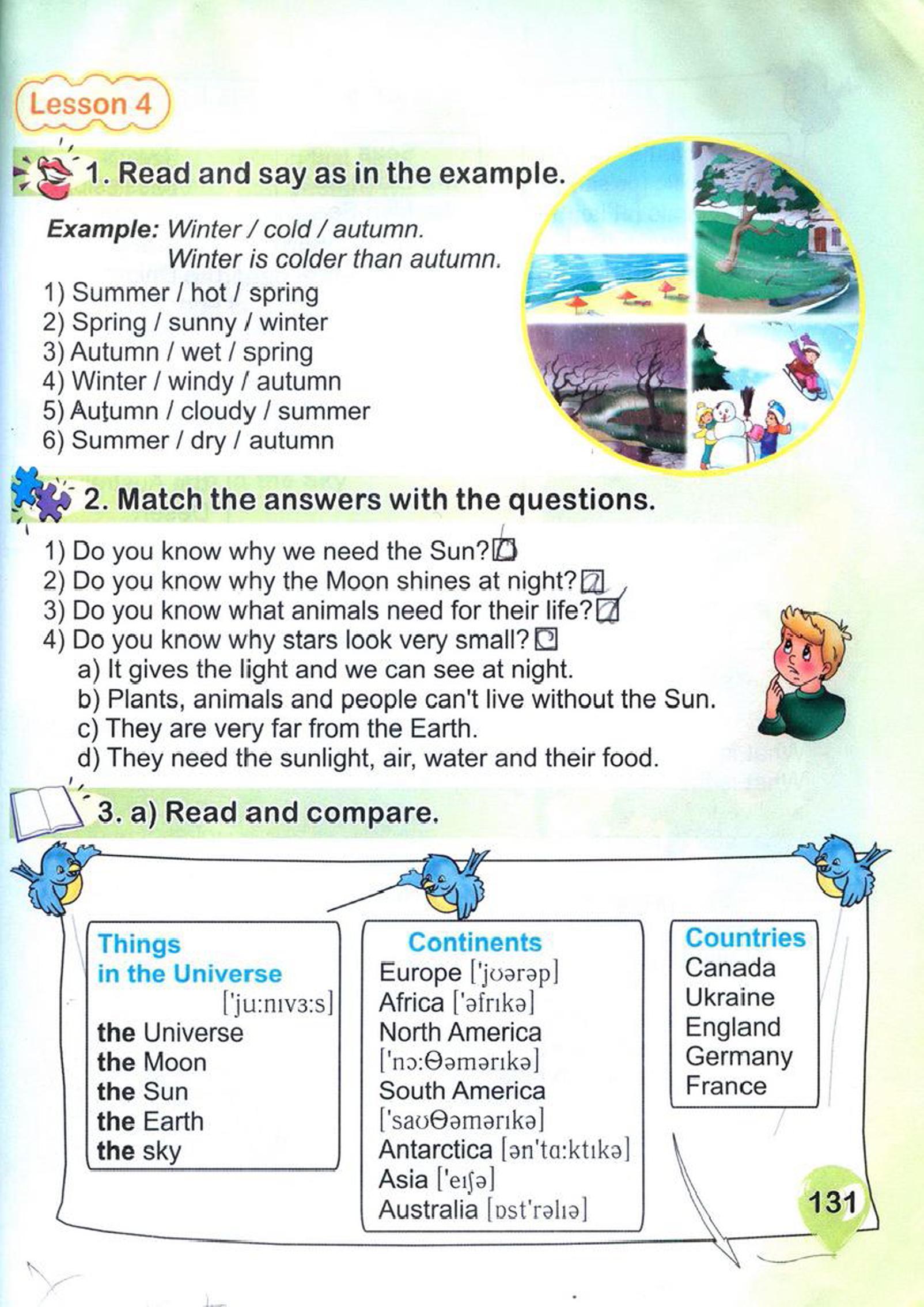тема з англійської мови 4 клас - 0128