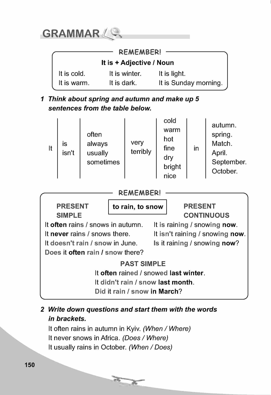 тема з англійської мови 5 клас - 0147