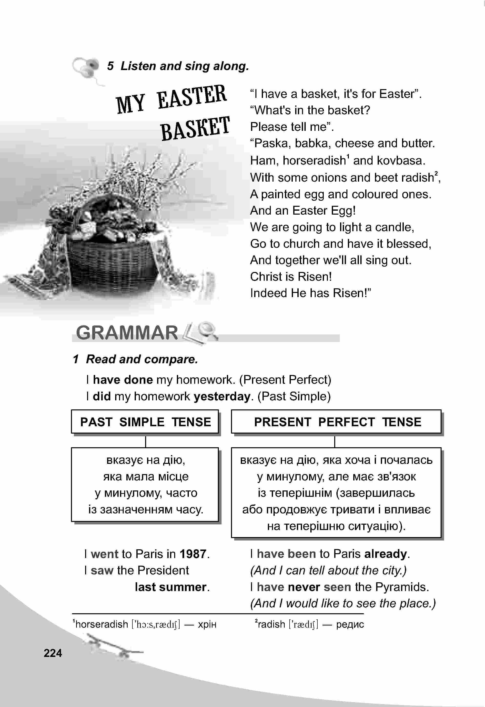 тема з англійської мови 5 клас - 0221