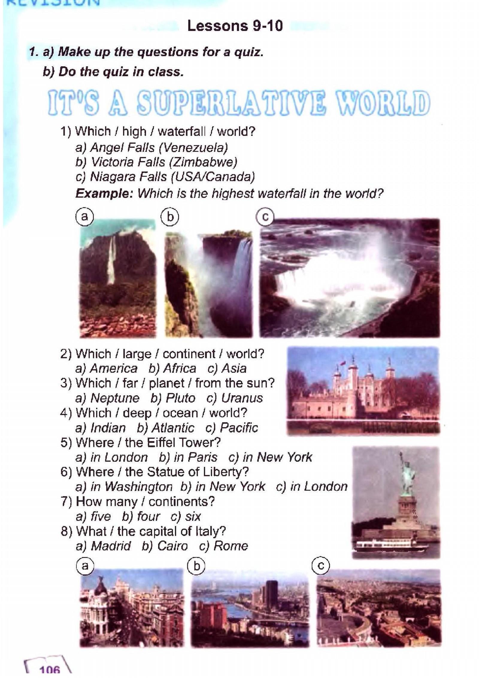 тема з англійської мови 6 - 0103